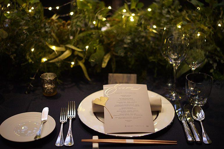菜單 (佈置及花卉設計:UI Florist Workshop / 攝影師:Yohei Murakami)