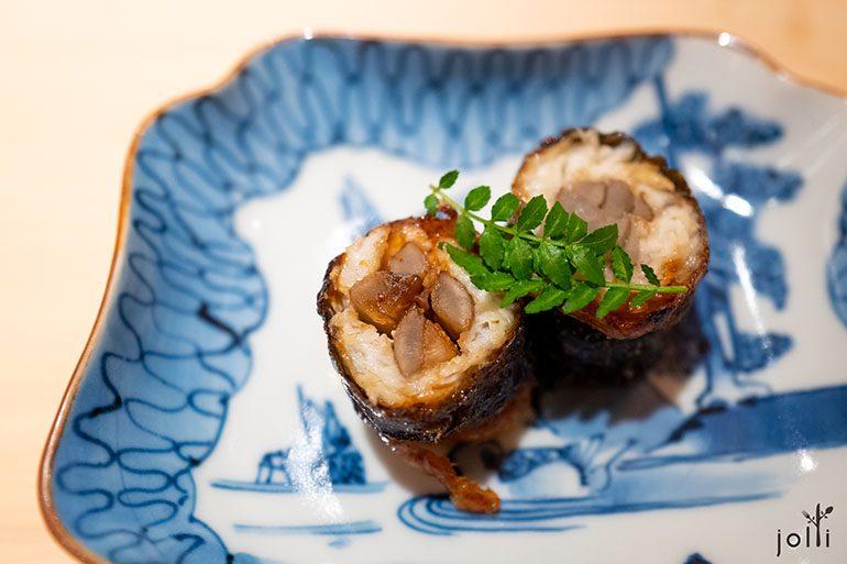 野生鰻魚牛蒡卷