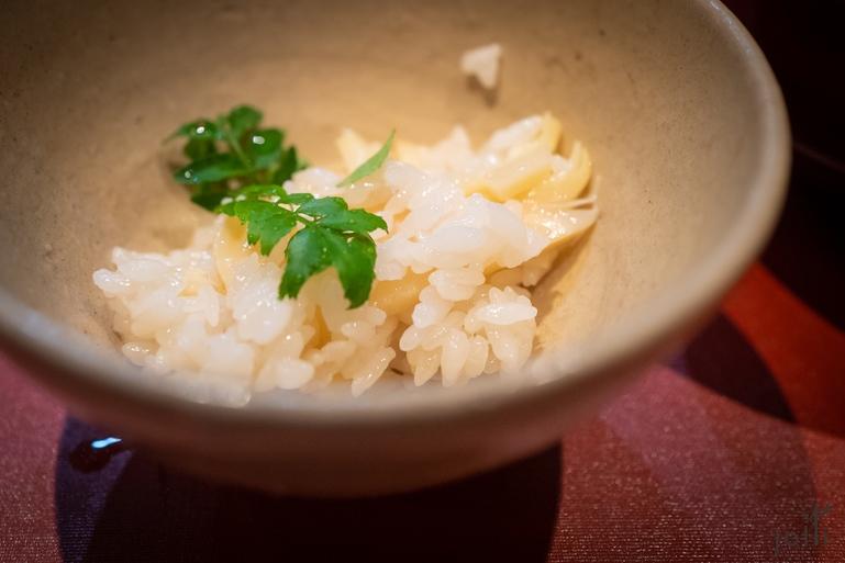 竹笋花椒叶饭