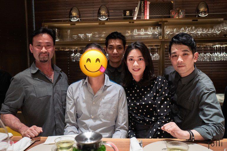 多田昌豊(左一)、永浜良(後中)、須賀洋介(右一)
