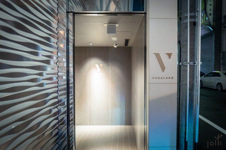 餐廳門口及電梯大堂