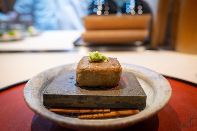 芝麻蜂斗菜豆腐