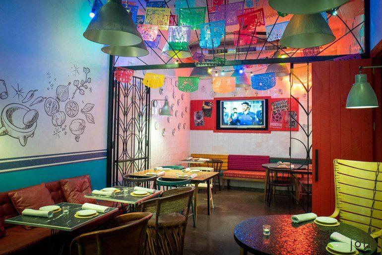 充满墨西哥风情的甜品区