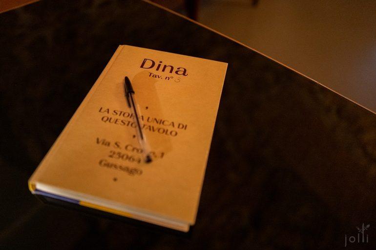 餐厅提供小本子给客人写下食后感