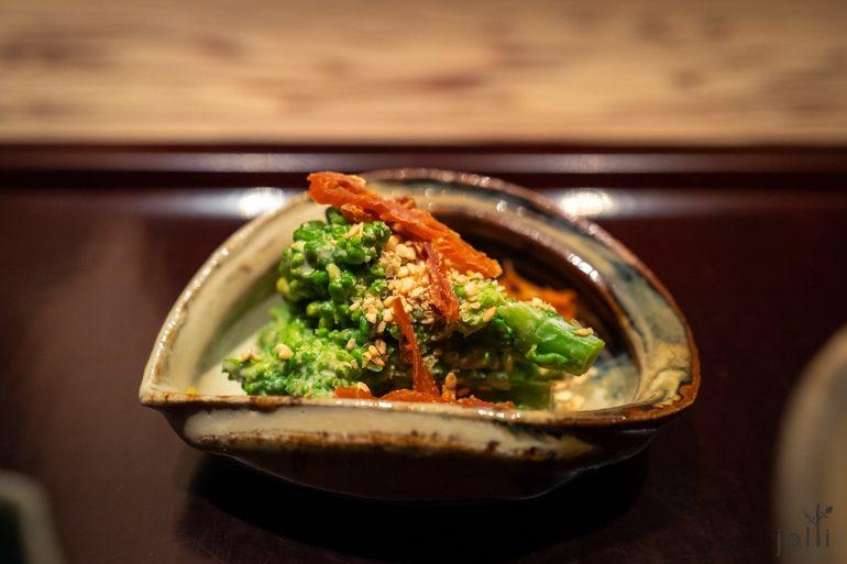 麻拌油菜子及海参卵巢